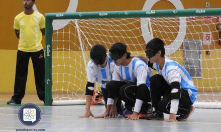 Goalball: Argentina no pudo con la potencia de Brasil