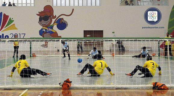 Goalball: Argentina, finalista