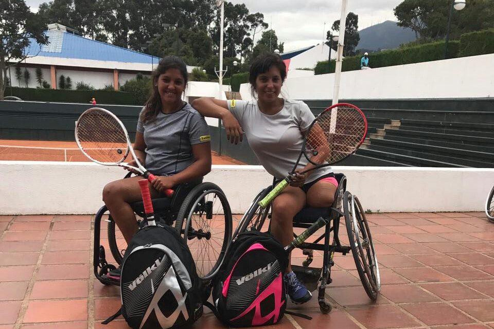 Tenis adaptado: Pralong y Moreno, eliminadas en semifinales