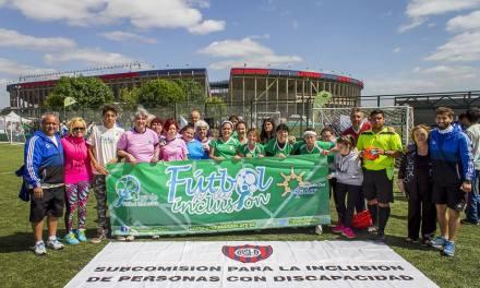 Presentan la Liga de fútbol inclusiva 2017