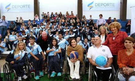 Michetti y Mac Allister recibieron a la delegación parapanamericana juvenil argentina