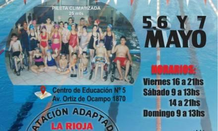 Se viene el torneo de natación adaptado de La Rioja