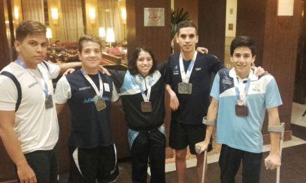 Natación: Facundo Arregui se quedó con la dorada en el Caixa de San Pablo