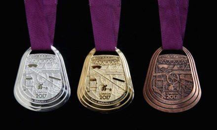 Para-atletismo: así son las medallas del Mundial Londres 2017