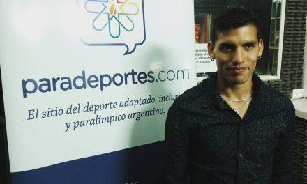 """Hernán Barreto en Paradeportes Radio: """"En Tokio 2020 quiero una medalla de otro color"""""""