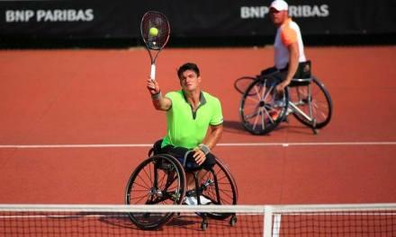 Tenis adaptado: Fernández y Ledesma avanzan en Francia