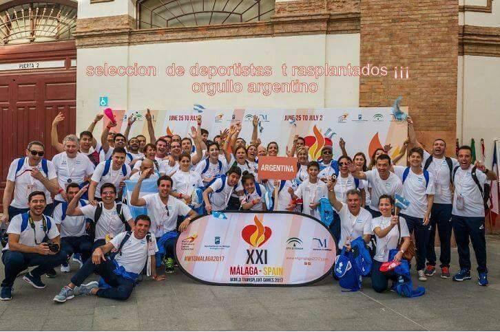 Juegos Mundiales de Trasplantados: Argentina terminó 8ª en el medallero