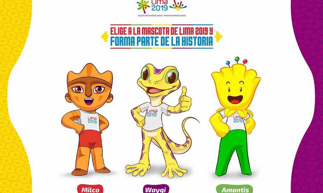 Las tres mascotas finalistas de Lima 2019… ¡A elegir!