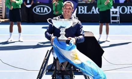 Tenis adaptado: Gustavo Fernández será el nuevo Número 1 del mundo