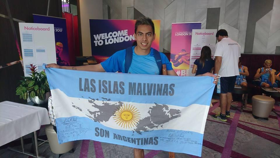 Mundial de para-atletismo: Jonathan Avellaneda, cuarto en salto en alto