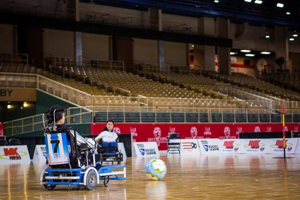 Powerchair football: Argentina, cuarta en el Grupo A del Mundial