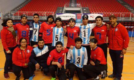 Goalball: la selección juvenil pasó por Chile