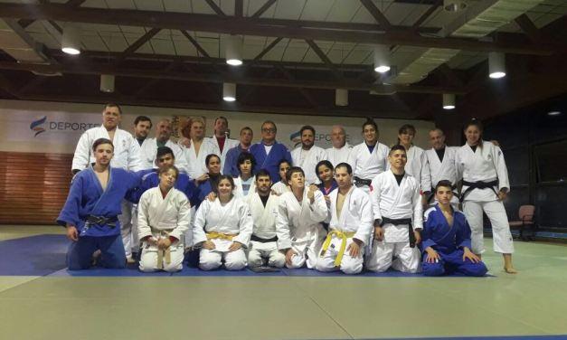 Judo: campo de entrenamiento en el CENARD