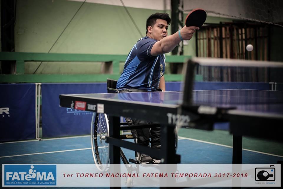 Tenis de mesa adaptado: se viene la segunda fecha del circuito nacional