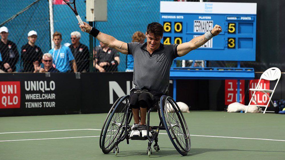 Tenis adaptado: Gustavo Fernández, consolidado como número uno del mundo