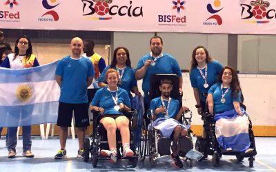 Boccia: Argentina participará en el Open de Kansas