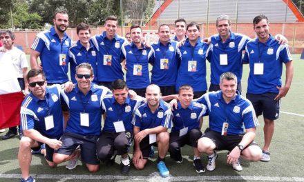 Fútbol 5 para ciegos: Argentina, finalista en Bucaramanga