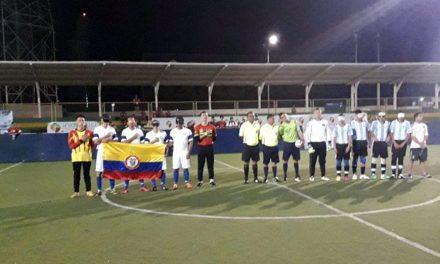 Fútbol 5 para ciegos: Argentina comenzó con el pie derecho en Colombia