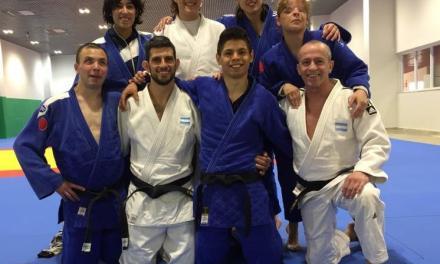 Judo paralímpico: Argentina se instaló en San Pablo