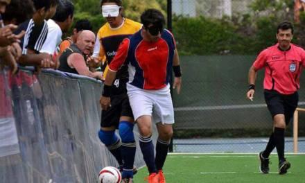 Fútbol para ciegos: Universidad de Tucumán, a puro gol