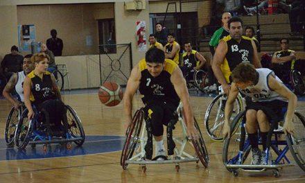 Básquet sobre silla de ruedas: un cuadrangular de lujo en Santa Fe