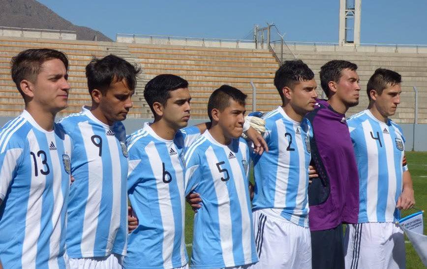 Mundial de Fútbol 7: Argentina sumó otro triunfo en San Luis