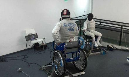 Esgrima paralímpica: Alarcón y Alderete, los ganadores de la cuarta fecha del Nacional
