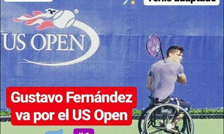 Tenis adaptado: Gustavo Fernández va por el US Open