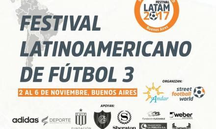 El festival latinoamericano de fútbol 3, cada vez más cerca