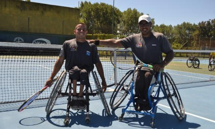 Tenis adaptado: Casco y Ledesma, en Suiza