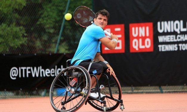 Tenis adaptado: Gustavo Fernández, confirmado para el Masters de dobles