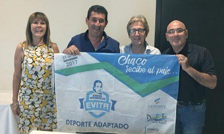Chaco se prepara para recibir a los Juegos Evita del deporte adaptado