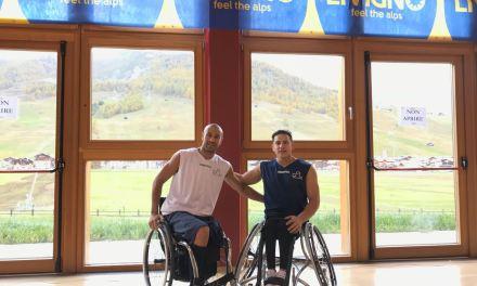 Básquet sobre silla de ruedas: Berdún y Esteche, a fondo en la pretemporada