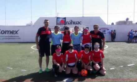 Fútbol para ciegos: debut internacional para Las Guerreras de Córdoba