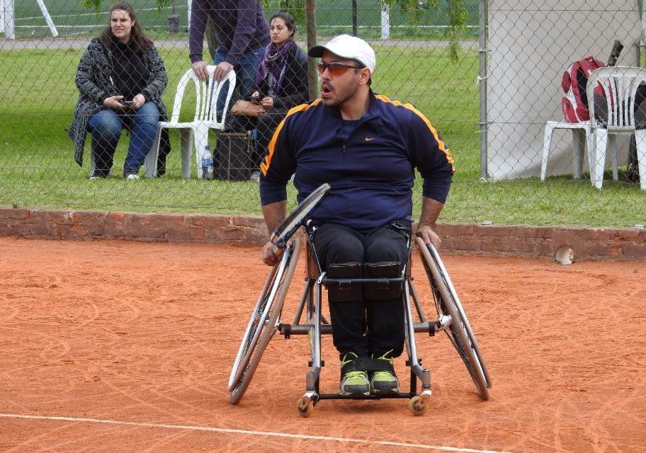 Tenis adaptado: definidas las semifinales del Cañuelas Open
