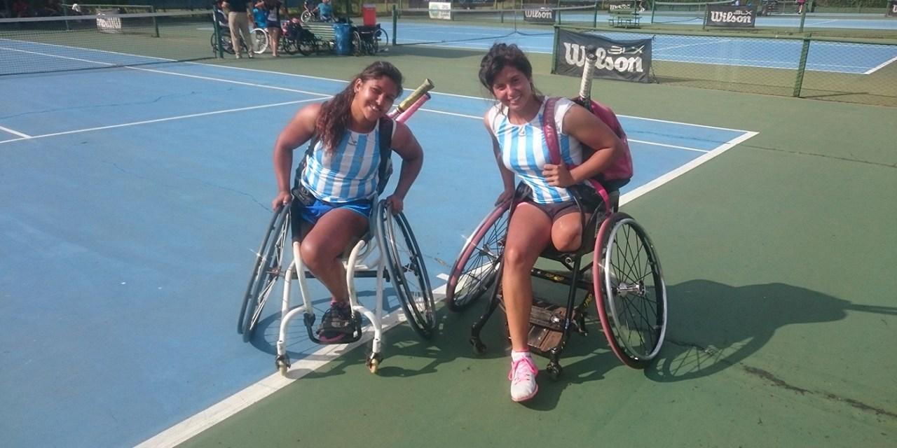 Tenis adaptado: Moreno y Pralong, subcampeonas en Brasil