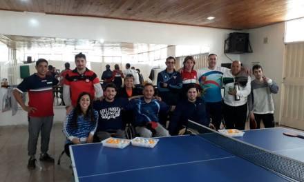 Tenis de mesa adaptado: segundo encuentro en Mendoza