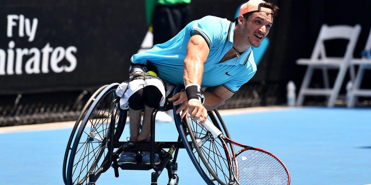 Tenis adaptado: en Inglaterra, Gustavo Fernández vuelve a la competencia