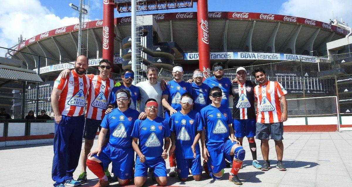 Fútbol para ciegos: Paradeportes Cañuelas FC, listo para la semifinal