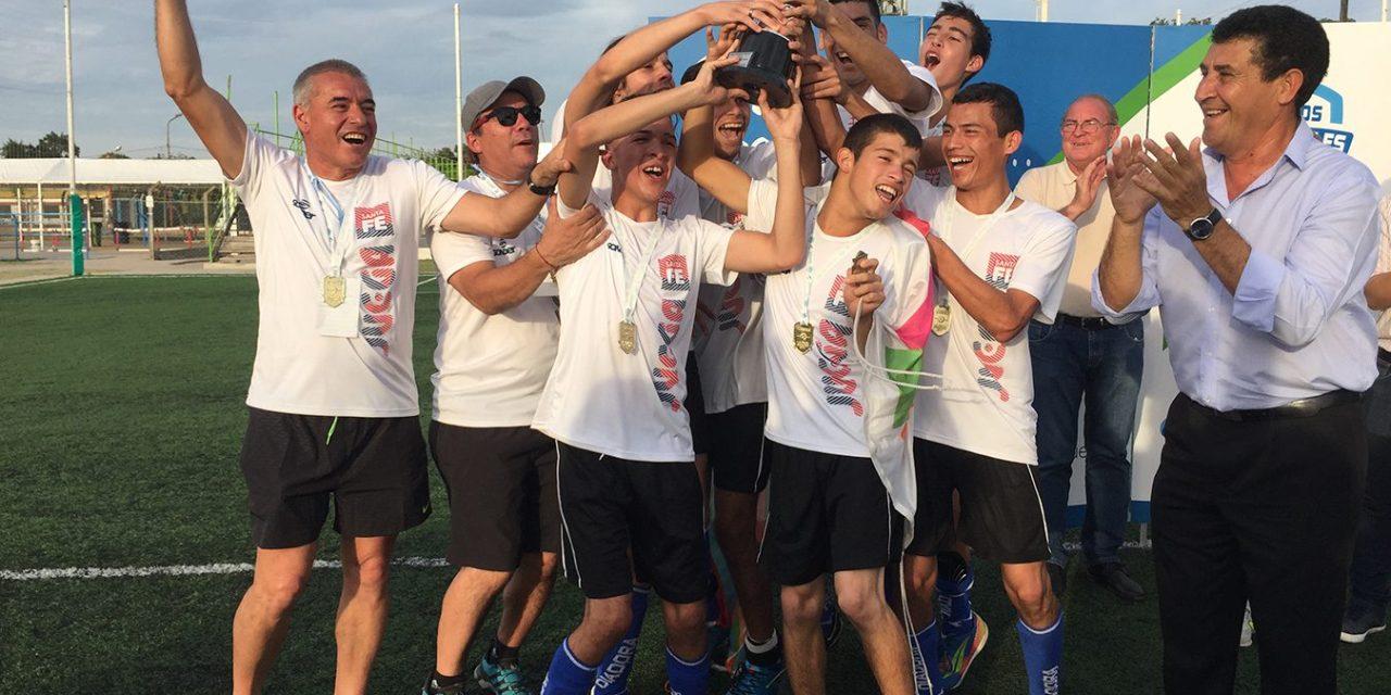 Juegos Nacionales Evita: Santa Fe volvió a coronarse en fútbol PC