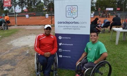 Tenis adaptado: Casco y Ledesma llegaron hasta semifinales en Praga