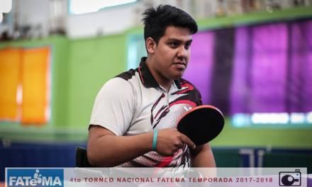 Tenis de mesa adaptado: Romero y Eberhardt, campeones nacionales