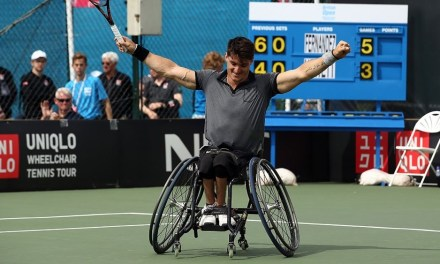 Tenis adaptado: Gustavo Fernández, semifinalista en Melbourne