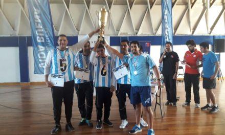 Goalball: Los Topos festejaron en Chile