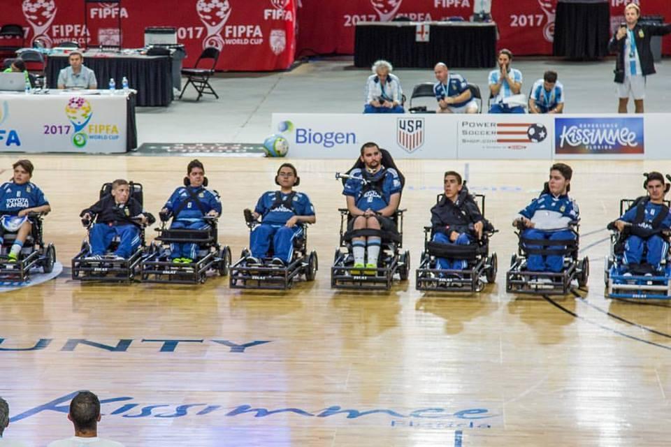 Powerchair football: primera concentración del año para la Selección Argentina