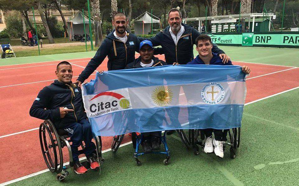 Tenis adaptado: se viene una nueva gira europea para los argentinos