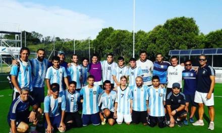 Fútbol para ciegos: Los Murciélagos y Los Murcielaguitos entrenan en conjunto