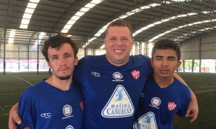 Fútbol para ciegos: Paradeportes Cañuelas FC continúa preparándose