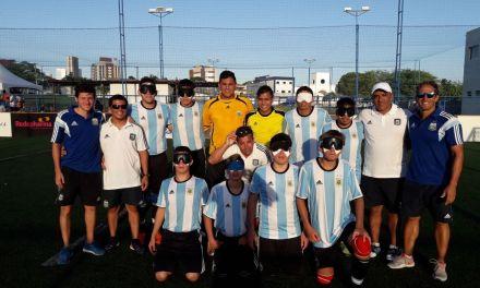 Fútbol para ciegos: la Selección Juvenil, a paso firme en Brasil