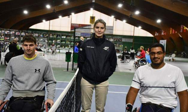 Tenis adaptado: Ledesma, finalista en Italia